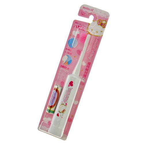 日本製 HAPICA 電動牙刷 Hello Kitty 3歲以上適用 每分鐘7000回微震動 *夏日微風*