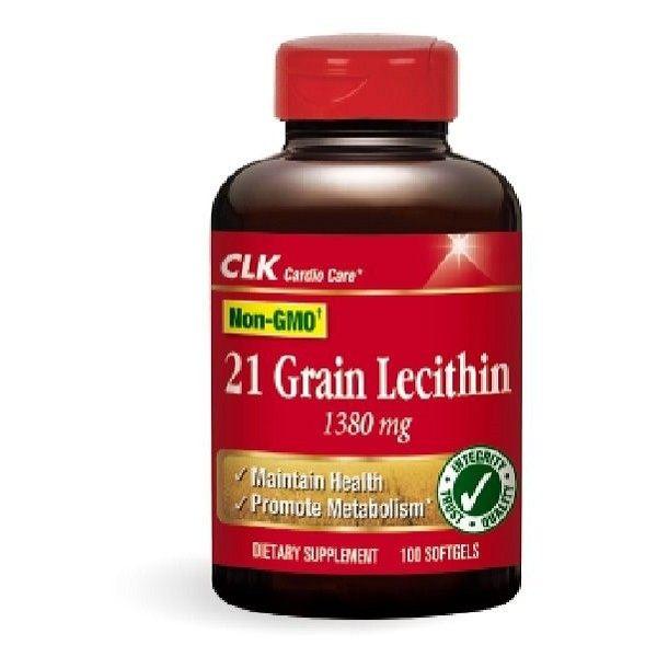 CLK健生 卵磷脂 1380mg 100粒/瓶◆德瑞健康家◆