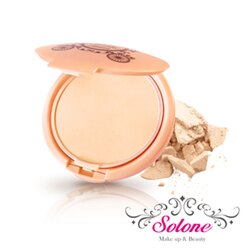Solone 玫瑰公主花園系列 零妝感淨白保濕粉餅 11g 【A003148】《Belle倍莉小舖》