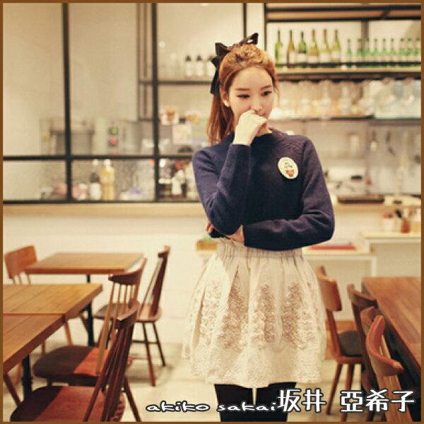 『坂井.亞希子』甜美緞帶大蝴蝶結髮圈