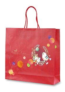 【紅標基本量】手提袋幸福鳥32*8*29.5200個