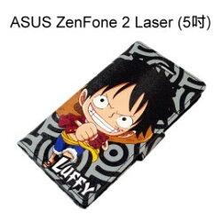 海賊王皮套 [R03] ZenFone 2 Laser ZE500KL Z00ED (5吋) 航海王 魯夫【台灣正版授權】