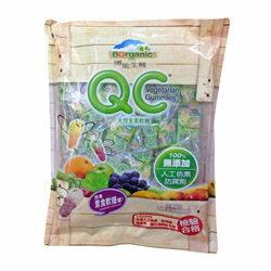 博能生機 QC天然全素軟糖 經濟包 240g/袋 比利時進口 純天然 小孩開心 原價$250 特價$229