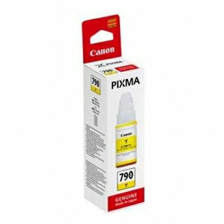 CANON GI-790 Y 原廠黃色墨水 適用:G1000/G2002/G3000/G4000