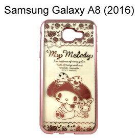 美樂蒂電鍍軟殼 [兔子] Samsung Galaxy A8 (2016)【三麗鷗正版授權】