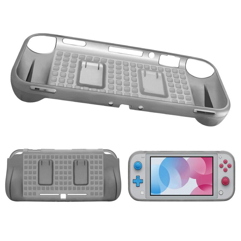 Switch Lite保護套-雙卡槽TPU柔軟任天堂switch保護殼4色73pp686【獨家進口】【米蘭精品】 1
