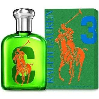 香水1986☆Ralph Lauren Polo BIG PONY #3 冒險男性淡香水 125ml