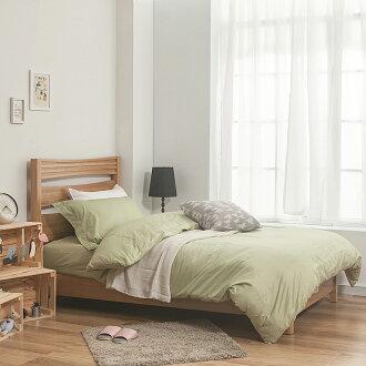 枕套 / 單入-100%精梳棉【素色系列 - 果綠】歐式壓框枕套45*75公分,戀家小舖,台灣製,簡約質感素色