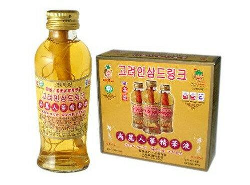金蔘 高麗人蔘精華液 120ml*3入/盒◆德瑞健康家◆