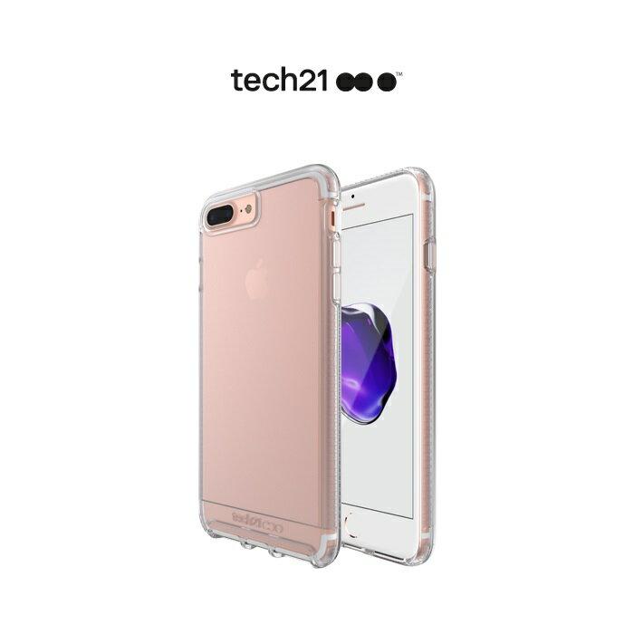 Tech21 英國超衝擊 Impact Clear iPhone 7 4.7吋 防撞硬式透明保護殼