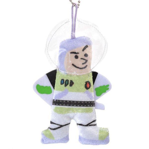 【真愛日本】14072600037 限定DNQ娃鎖圈-巴斯光年 迪士尼 巴斯光年玩具總動員 吊飾 鎖圈 鑰匙圈 日本帶回