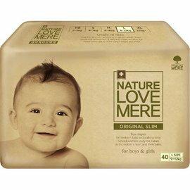 然自母愛NatureLoveMere經典型尿布(紙尿布)L40X4包(箱購)1960元