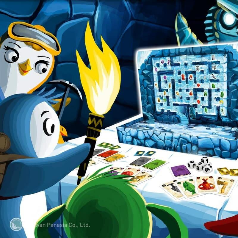 現貨【滿千免運含發票】古墓企鵝【123玩遊戲】