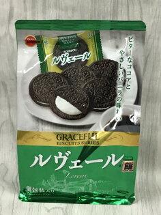 北日本巧克力香草夾心餅108g包