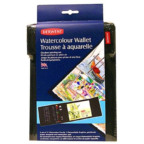 Watercolor Pencil Set In Carrying Case Is Ideal For Artists On the Go 25a3725016237546d20743f00fc78771