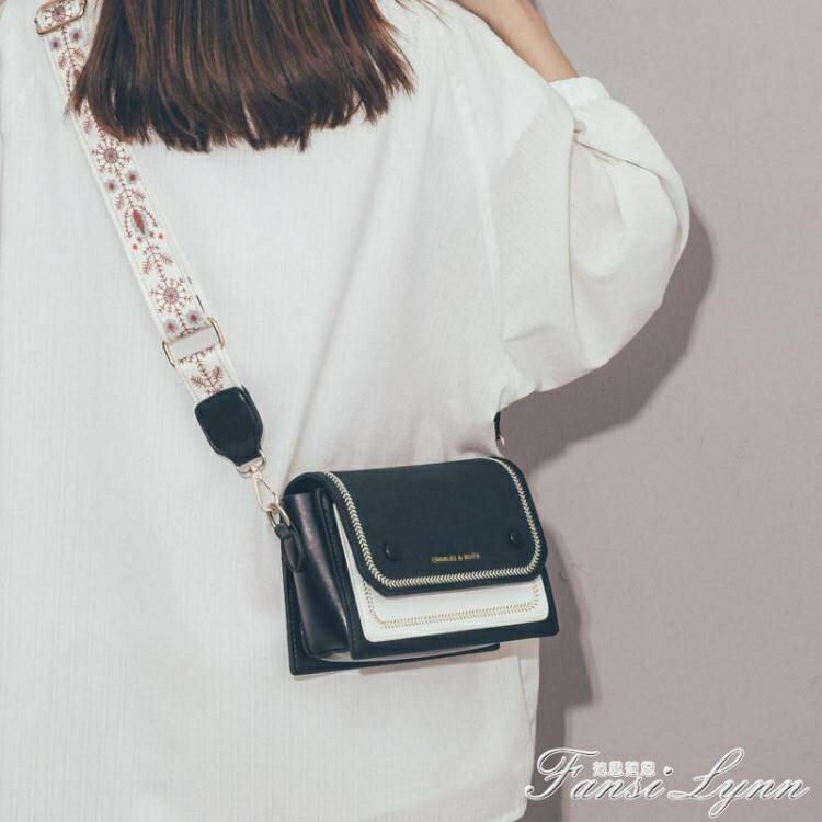 新品上市 限時優惠包包女包新款潮百搭寬帶斜背包高級感法國小眾洋氣小巧單肩包