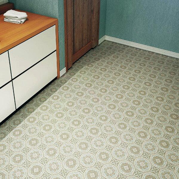 磚紋地板卷材客廳廚房SE-3132