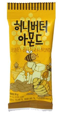 【韓新館】品名:蜂蜜奶油風味杏仁果
