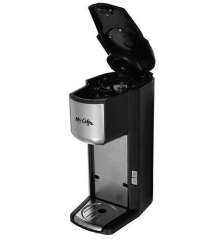 Mr. Coffee Single Cup Coffeemaker with Built-in Grinder, with Travel Mug Included BVMC-SCGB200 1