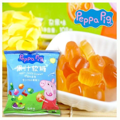 佩佩豬果汁軟糖 Peppa Pig (單包)18g 糖果 [HK4897058] 千御國際