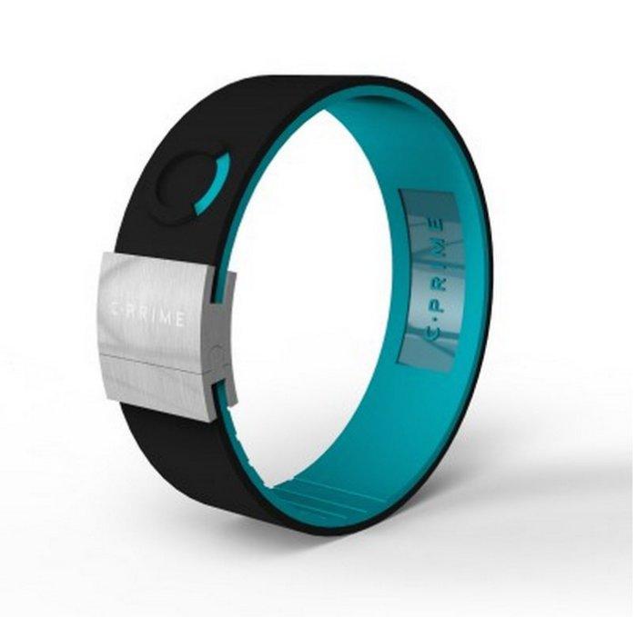 CPRIME體驗美國科技平衡手環C.Prime手環~頂尖運動員的致勝關鍵~健身房時尚手環-NEO黑藍