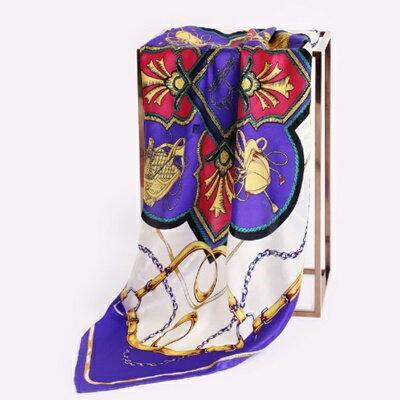 絲巾桑蠶絲圍巾-流行大方時尚首選女配件4色73hx9【獨家進口】【米蘭精品】