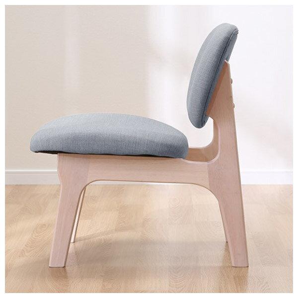 ◎(OUTLET)實木餐椅 RELAX WW / GY 橡膠木 福利品 NITORI宜得利家居 2