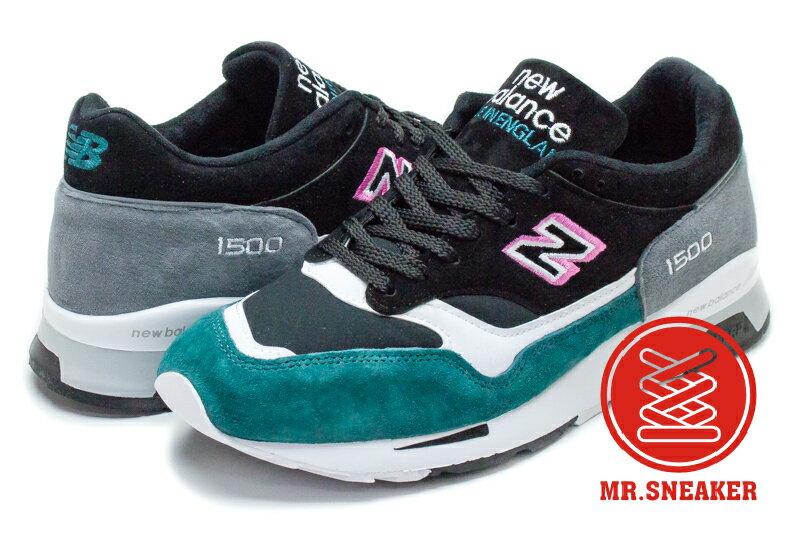 ☆Mr.Sneaker☆ New Balance 1500 英製 白 黑 綠 M1500KFG 男段【12/1-31 單筆滿2000結帳輸入序號 XmasGift-outdoor 再折↘250 | 單..