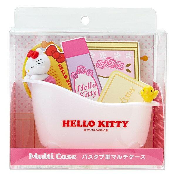 X射線【C964828】Kitty多用途置物盤,置物筒/收納/浴缸/筆插/牙刷架/手機座/辦公小物/擺飾/Hello Kitty