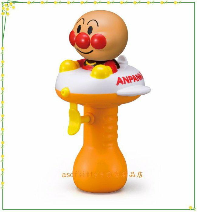 asdfkitty可愛家☆日本PINOCCHIO 麵包超人 飛機版-水槍玩具/洗澡玩具 -日本正版