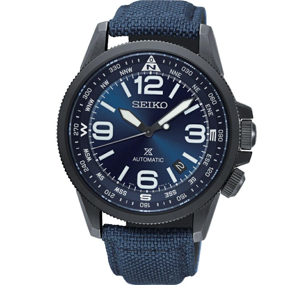 寶時鐘錶 SEIKO精工PROSPEX空全方位飛行機械錶 4R35-02N0B SRPC31J1