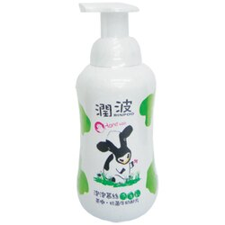 潤波 泡泡慕絲 洗手乳(茶樹‧抗菌牛奶配方) 300ml(12入)/箱