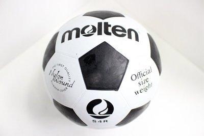 【H.Y SPORT】MOLTEN S4R 4號 橡膠足球 4號 球 國小專用