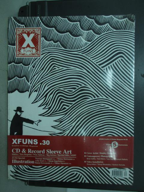 【書寶二手書T1/設計_QXD】Xfuns放肆創意設計_30期_CD&Record Sleeve Art
