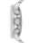 MIDO 美度 M0164141104100 Commander 指揮官系列機械腕錶 藍 銀 42.5mm 2