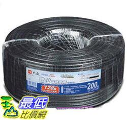 [106玉山最低比價網] PX大通 128 編織同軸電纜線200米 5C-200M(CATV/數位訊號專用)