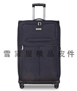 ~雪黛屋~BATOLON大中一組商務型可加大容量行李箱輕量型高單數防水尼龍布360度靈活旋轉鋁合金多段式拉桿B1506
