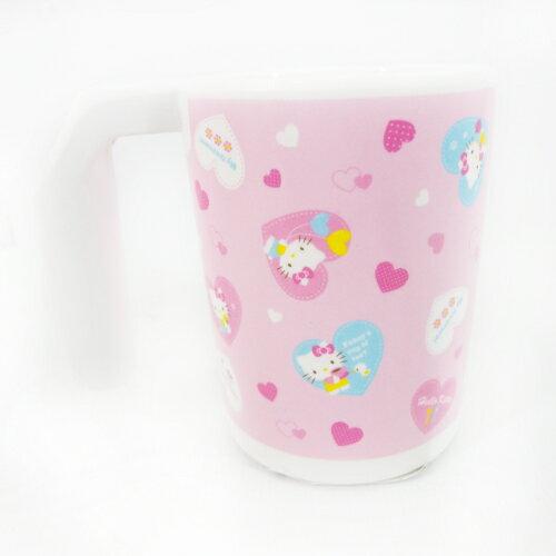 【真愛日本】15091900005牙刷杯-愛心粉  三麗鷗 Hello Kitty 凱蒂貓  水杯  漱口杯 杯子