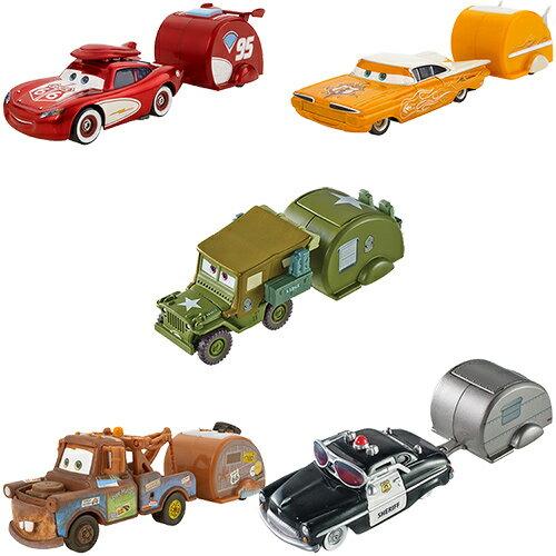 《 汽車總動員 Cars 》公路旅行拖車 ( 隨機出貨 )