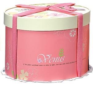 【基本量】手提圓型蛋糕盒/維娜斯 10吋/100個