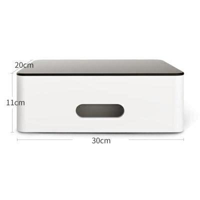 螢幕架 電腦顯示器增高架子辦公室桌面收納盒台式屏幕置物墊高支架底座女 玩物志