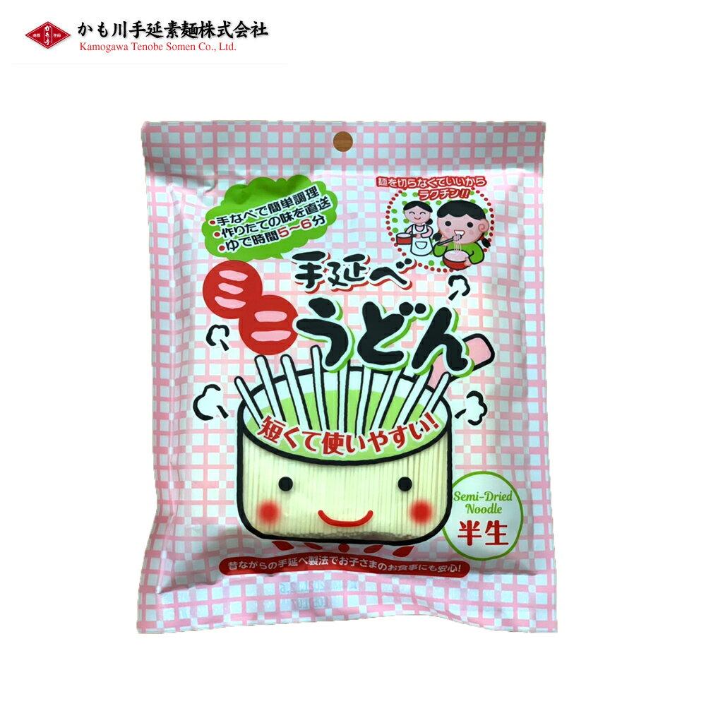 日本-手延迷你半生烏龍麵-200g包