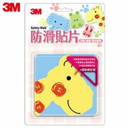 【米菲寶貝】3M-正版公司貨-防滑貼片(動物6入)廁所 浴室 樓梯 安全 止滑貼片 0