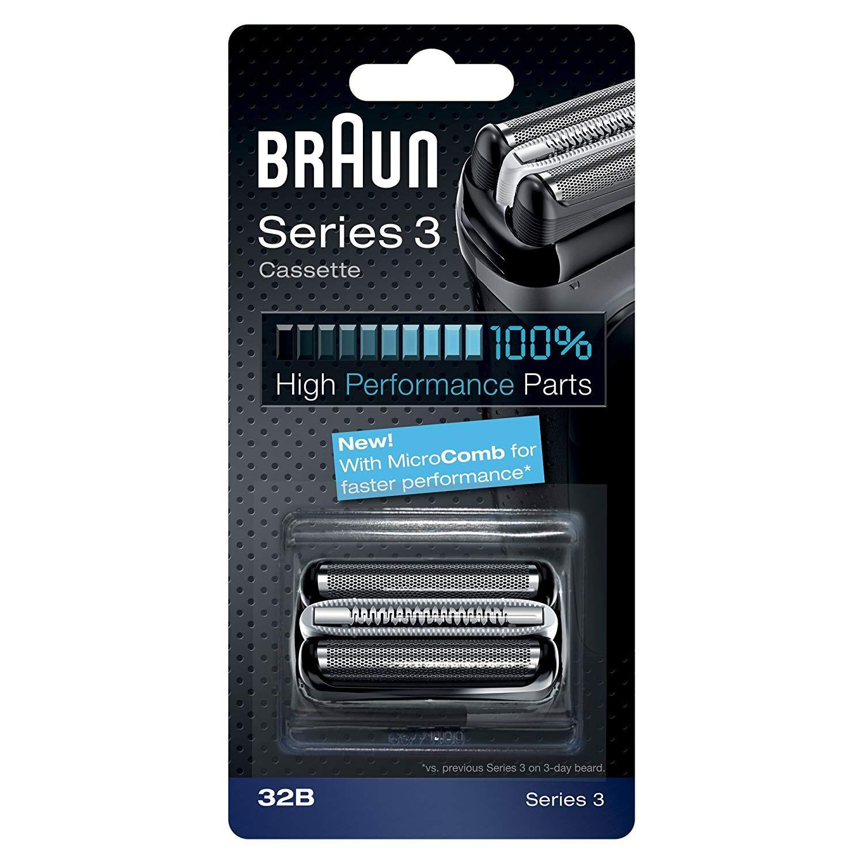 BRAUN 德國百靈 複合式刀頭刀網匣 32B(黑) 32S(銀)【適用390cc、350cc、340s、330s、320s】