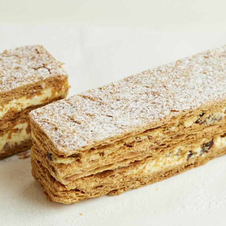 【湛觀上品糕點坊】拿破崙派(4入) 老饕推薦 內湖知名 下午茶點心 彌月禮盒