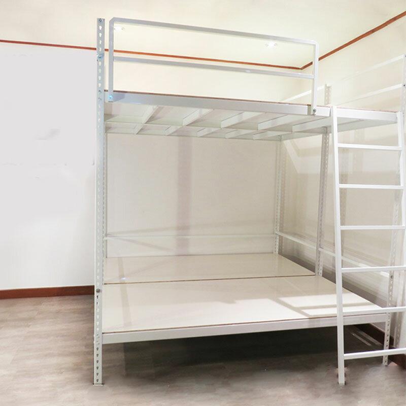 《居家客棧熱銷床架款》白色 床架 上下舖 單人/雙人床  免螺絲角鋼 空間特工