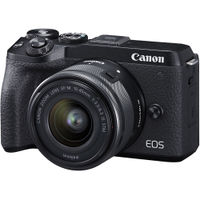 Canon數位單眼相機推薦到Canon EOS M6 Mark II KIT (15-45IS) 佳能公司貨 M6II就在兆華國際有限公司推薦Canon數位單眼相機