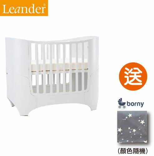 【即日起~5/3贈韓國borny安撫毯$2500】丹麥【Leander】現代經典成長型嬰兒床(3色) 2