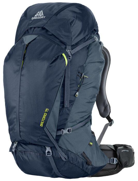 Gregory |美國| Baltoro 75 登山背包《男款》/重裝背包 自助旅行背包-海藍M/65780 【容量75L】