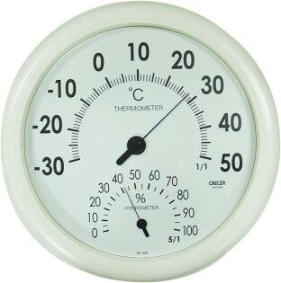 聯盟文具:日本CRECER溫溼度計CR-320